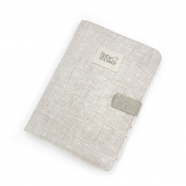 RAINY LINEN DOCUMENT FOLDER