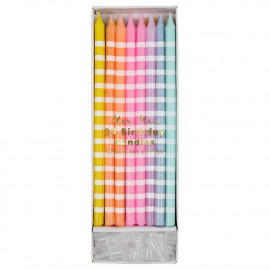 PASTEL CANDY CANDLES