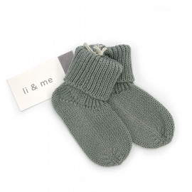 CALCETIN TRICOT SAGE
