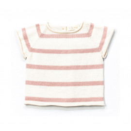 ROSE TRICOT T-SHIRT