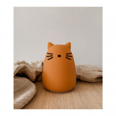 VEILLEUSE LIEWOOD CAT MUSTARD
