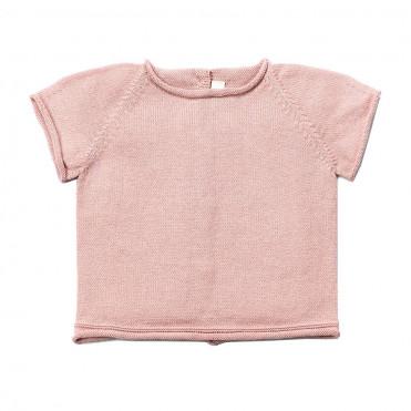 TRICOT ROSE T-SHIRT