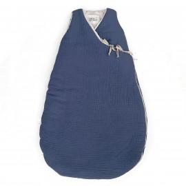 BLUE JEAN POWDER FLEECE SLEEPING BAG