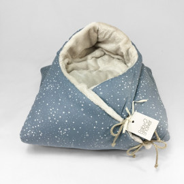 BLUE STAR FLEECE ANGEL NEST