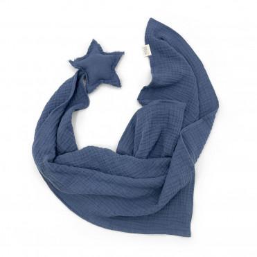 DOUDOU STAR BLUE JEAN POWDER