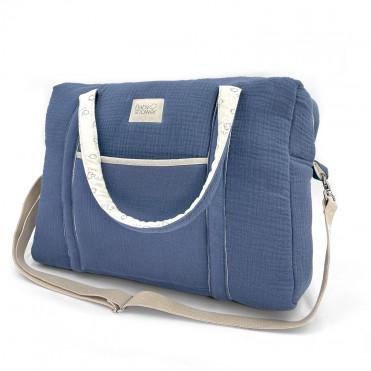 BLUE JEAN CAMILA MATERNITY BAG