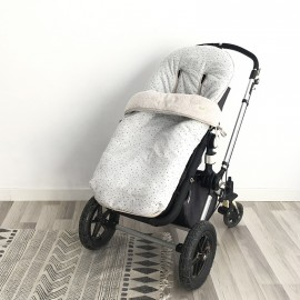 HOUSSE BUGABOO GREY ON GREY