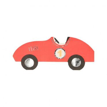 RACE CAR SMALL PAPER NAPKINS