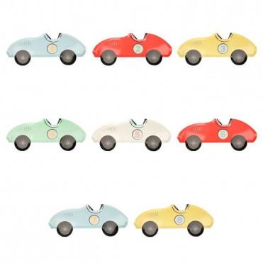 ASSIETTES PAPIER RACE CAR